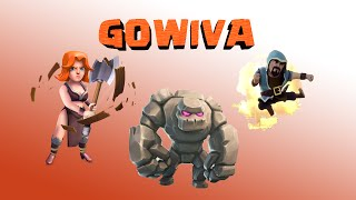 getlinkyoutube.com-GOWIVA - Tuto attaque GDC 3 étoiles ! HDV 8 & 9 | Clash of Clans Fr