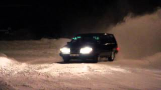 getlinkyoutube.com-Volvo 945 snölek