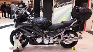 2016 Yamaha FJR1300 ABS - Walkaround - Debut at 2015 Salon de la Moto Paris