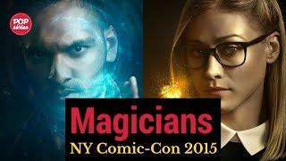 NYCC 2015: Olivia Taylor Dudley e Arjun Gupta de The Magicians