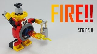 getlinkyoutube.com-LEGO Mixels | SERIES 8 | How To Build/Instructions | 41563 Firefighter!