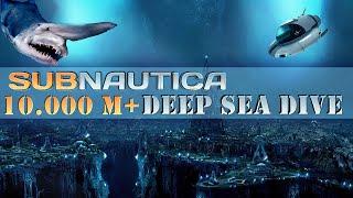 getlinkyoutube.com-Deepest Sea Dive! 10.000M+!! What Secret Lies Below? | Subnautica
