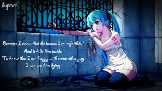 getlinkyoutube.com-Nightcore - Unfaithful   (Lyrics)