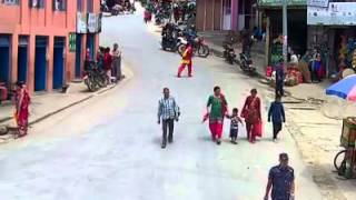getlinkyoutube.com-Earthquake @ Gorkha - Hospital Chok - 25 April 2015