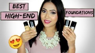 getlinkyoutube.com-Best High End Foundations | Mini Reviews