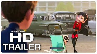 Incredibles 2 Violet Identity Revealed To Her Boyfriend Trailer (NEW 2018) Superhero Movie HD