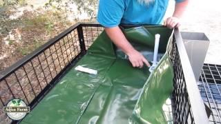 getlinkyoutube.com-MyAquaFarm Aquaponics Construction Video