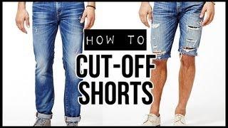 getlinkyoutube.com-HOW TO: CUT-OFF SHORTS ✂ D.I.Y TUTORIAL | JAIRWOO