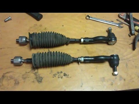 Замена рулевых тяг и наконечников