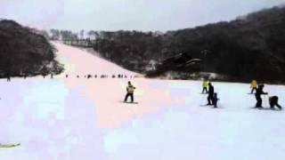 Snowboarding In Rusutsu