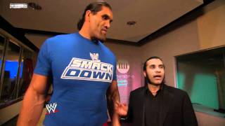 getlinkyoutube.com-SmackDown: The Great Khali wishes Rey Mysterio well as he heads to Raw