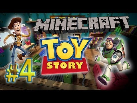 Minecraft: A Toy Story w/Mitch& Friends FINALE - Miss Bo Peep!