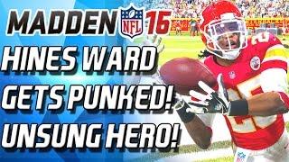 getlinkyoutube.com-HINES WARD GETS PUNKED! UNSUNG HERO! - Madden 16 Ultimate Team