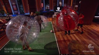 getlinkyoutube.com-The Sharks Play Bubble Soccer - Shark Tank