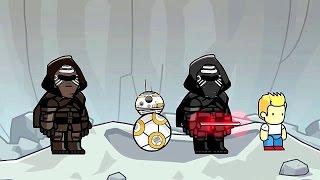 getlinkyoutube.com-Scribblenauts Unlimited 150 Star Wars The Force Awakens BB-8 & Kylo Ren