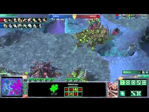 Blizzcon 2011 Starcraft 2 Grand Finals Nestea vs MVP FINAL MATCH part 2/3 [HD 1080p]