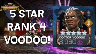 5 Star Doctor Voodoo Rank Up & Gameplay! - Marvel Contest Of Champions