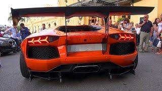getlinkyoutube.com-LIBERTY WALK LB Performance Lamborghini Aventador is INSANE!!
