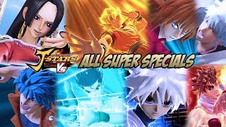 getlinkyoutube.com-J-STARS Victory Vs - All Super Specials/Ultimate Attacks