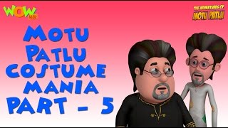 Motu Patlu - Costume Mania - Motu Patlu Compilation Part 5 -As seen on Nickelodeon