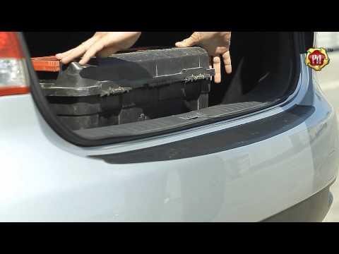 Накладка на задний бампер Nissan Almera 2014-н.в.
