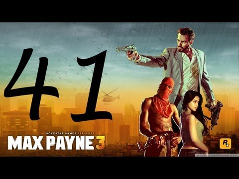 Max Payne 3 Walkthrough - Final Boss Hard Mode Part 41 HD no commentary gameplay Chapter 14
