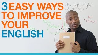getlinkyoutube.com-Learn English: 3 easy ways to get better at speaking English