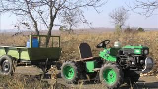 getlinkyoutube.com-Мини трактор ЗУБР