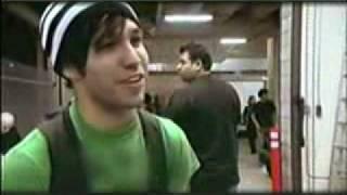 getlinkyoutube.com-Fall Out Boy-Making of A Little Less Sixteen Candles.. prt1