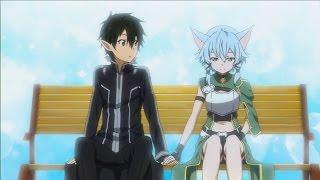 getlinkyoutube.com-Sword Art Online: Lost Song pt 9 Kirito and Sinon moment