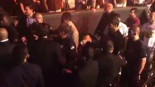 getlinkyoutube.com-Nick Diaz throws drink on Khabib Nurmagomedov after Khabib punched Martin Sano in the mouth