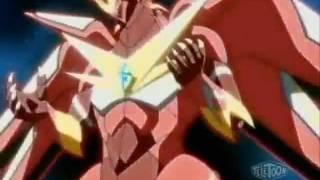 getlinkyoutube.com-Bakugan Mechtanium Surge - Pyrus Titanium Dragonoid Evolution To Pyrus Fusion Dragonoid
