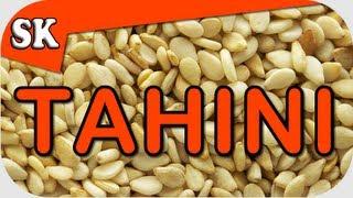getlinkyoutube.com-HOW TO MAKE TAHINI - Fresh Easy Tahini Recipe