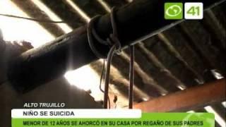 getlinkyoutube.com-Menor de 12 años se ahorcó en su casa por regaño de sus padres - Trujillo