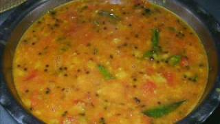 getlinkyoutube.com-Tomato Pappu - Tomato Dal (Lentils) - Indian Andhra Telugu Recipes