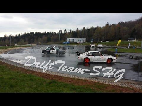 DriftTeam-SHG | BMW E30 vs Opel Manta with M3 Engine Nurburgring Drift
