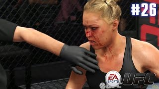 getlinkyoutube.com-EA Sports UFC - Ronda Rousey vs Miesha Tate (EA Sports UFC PS4 Matches)