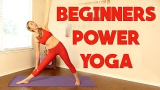 getlinkyoutube.com-Beginners Power Yoga for Weight Loss ♥ 20 Minute Workout, Full Body Routine, At Home Fitness