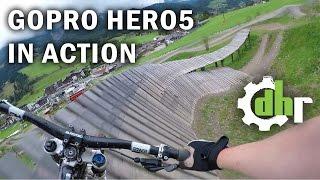 getlinkyoutube.com-GoPro Hero5 Black: Mountain Bike Park Leogang. Video Stabilization, Wind Noise