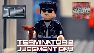 getlinkyoutube.com-Lego Terminator 2 Judgement Day : The Galleria