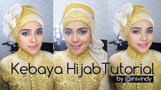 getlinkyoutube.com-Kebaya Hijab Tutorial by IniVindy | Hijabstyle ke Pesta
