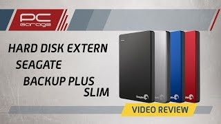 PC Garage – Video Review Hard disk extern Seagate Backup Plus Slim