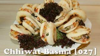 getlinkyoutube.com-Chhiwat Basma [027] - Batbout farci خبيزات / مخيمرات محشية / معمرين