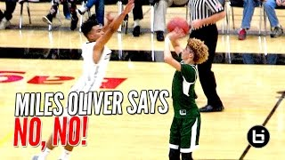 getlinkyoutube.com-LaMelo Ball's Half Court Shot BLOCKED By Miles Oliver! LaMelo Then Throws SICK No Look Pass After!