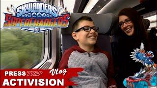 getlinkyoutube.com-[VLOG] Skylanders SuperChargers : Press Trip Activision Paris - Family Geek