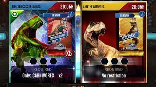 THE COLOSSUS OF CANADA + AND THE WINNER IS...|| Jurassic World The Game