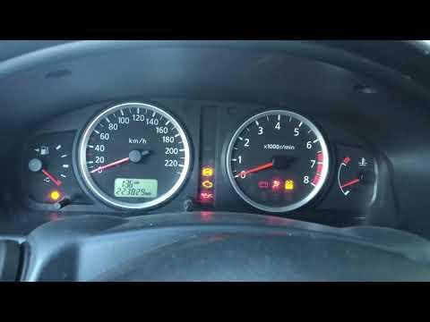 Nissan Almera N16 пропала тяга заводится