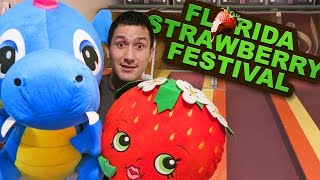 BIG WINS at the Florida Strawberry Festival Carnival Games 2017!