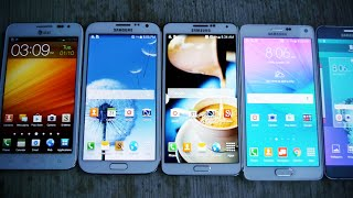 getlinkyoutube.com-Samsung Galaxy Note 5 vs 4 vs 3 vs 2 vs 1 Drop Test!