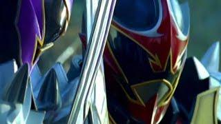 Koragg-vs-Wolf-Warrior-Fight-Power-Rangers-Mystic-Force width=